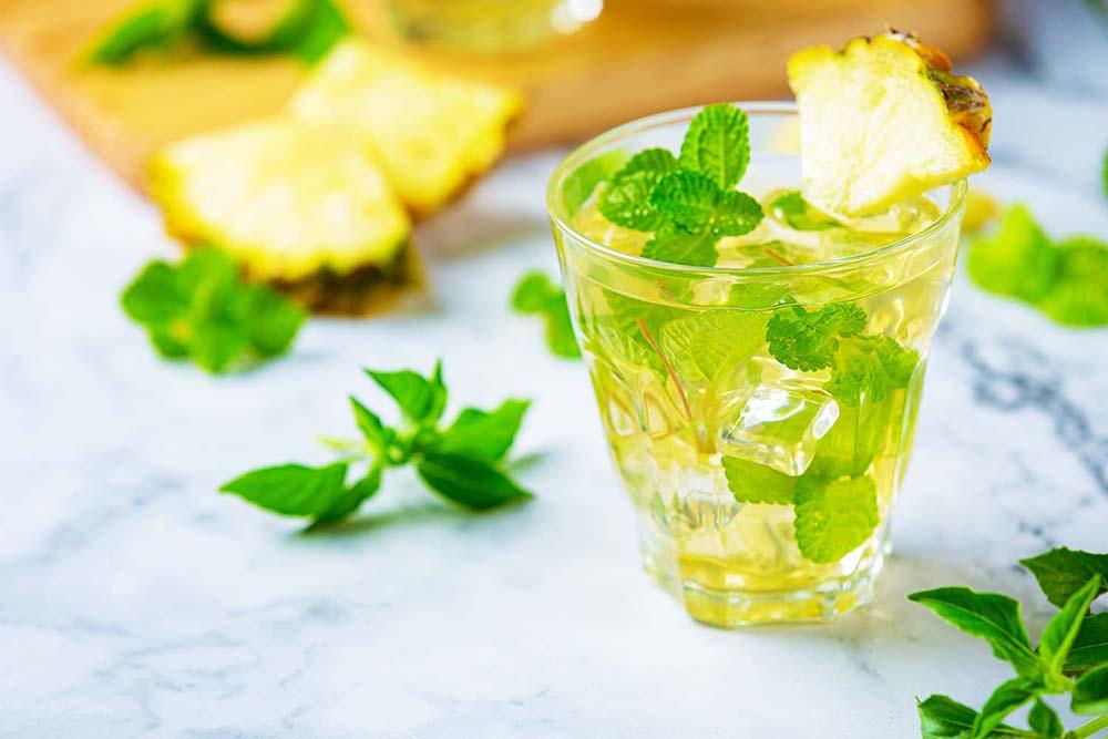 ミント水出し緑茶