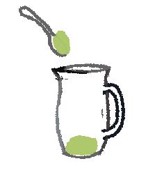 水出し緑茶の淹れ方1