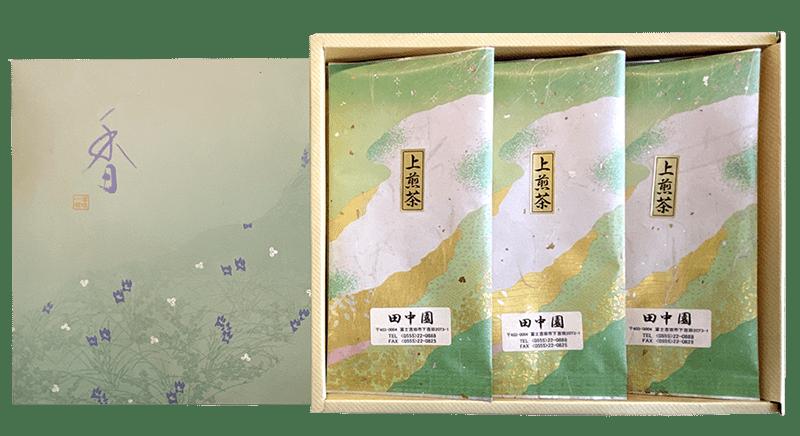 田中園のお茶セットの写真